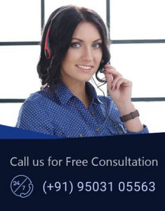 Smiling White Call Center Agent Consult Client - Best Immigration Consultants in India
